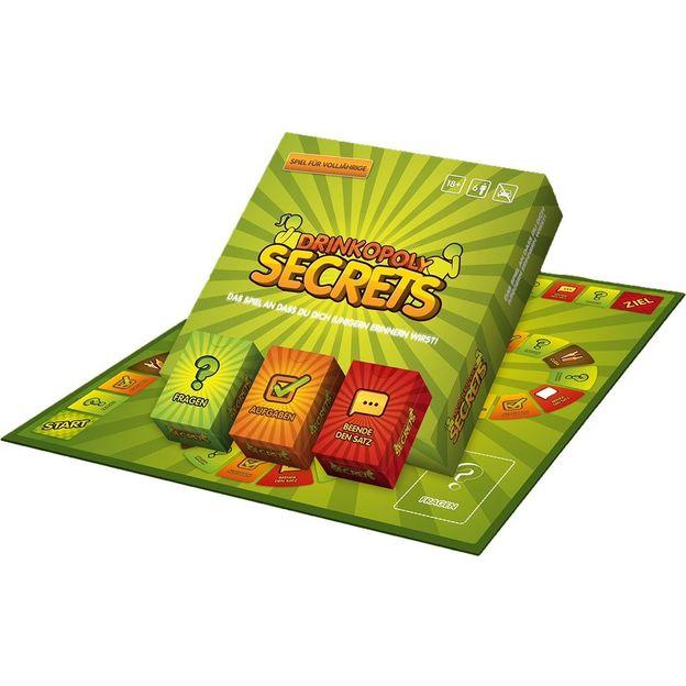Drinkopoly Trinkspiel Secrets
