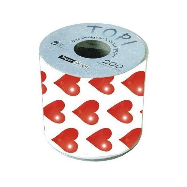 Toilettenpapier Herz