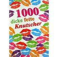 Musik Grusskarte 1000 dicke fette Knutscher
