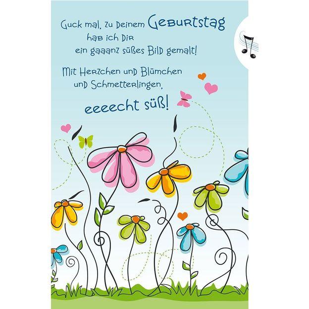 Musik Grusskarte Geburtstag für Ihn