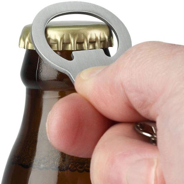 Flaschenöffner Handschellen