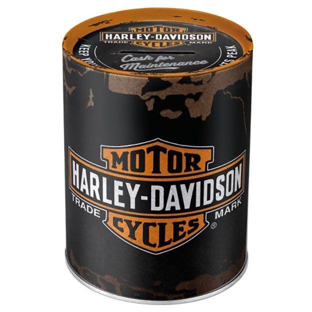 Tirelire rétro Harley Davidson
