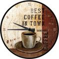 Horloge murale Best Coffee in Town