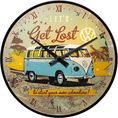 VW Let's Get Lost Wanduhr