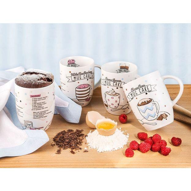 Set Mug Cake 4 pces