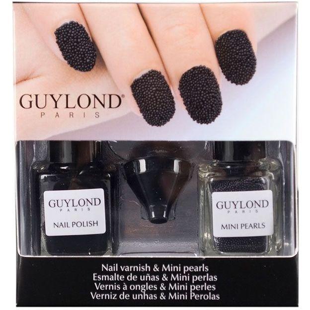 Set vernis à ongles caviar noir