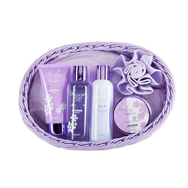 Geschenkkorb Lavender Collection