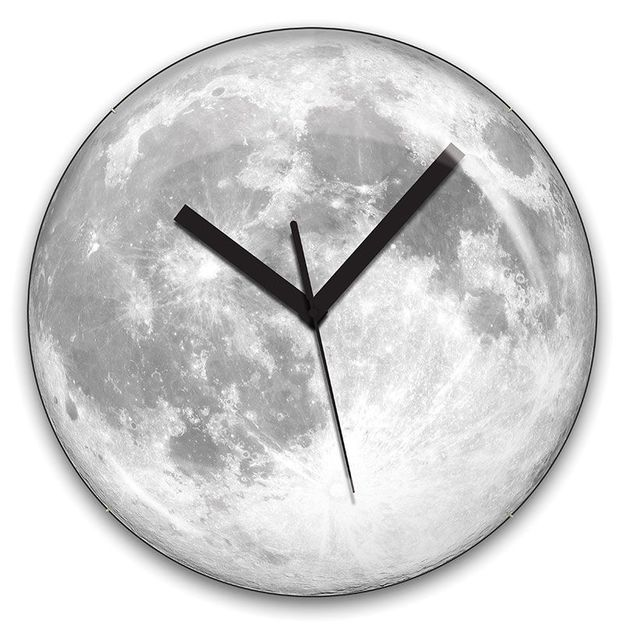 Horloge Lune Lumineuse
