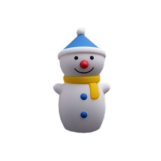 Snowman Powerbank blau