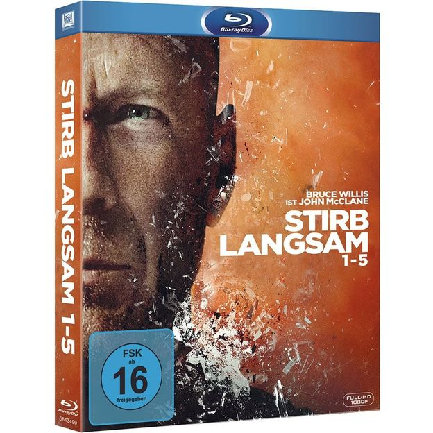 Blu-ray DVD Box Stirb langsam 1-5