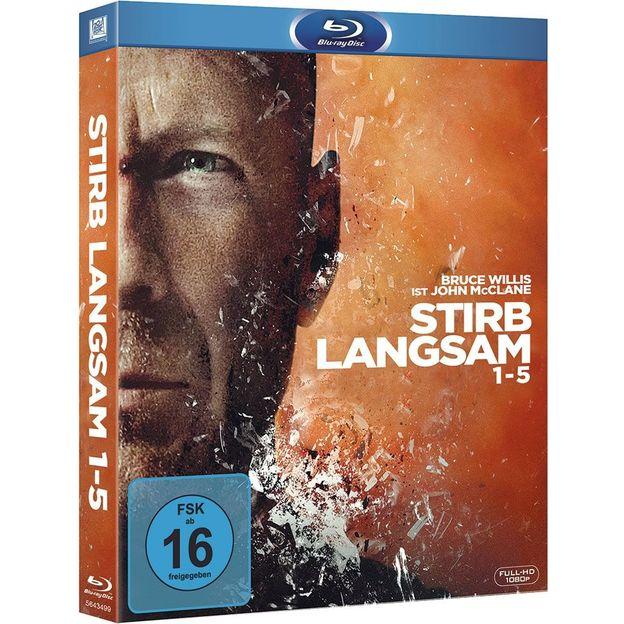 Blu-ray DVD Box Stirb langsam 1-5