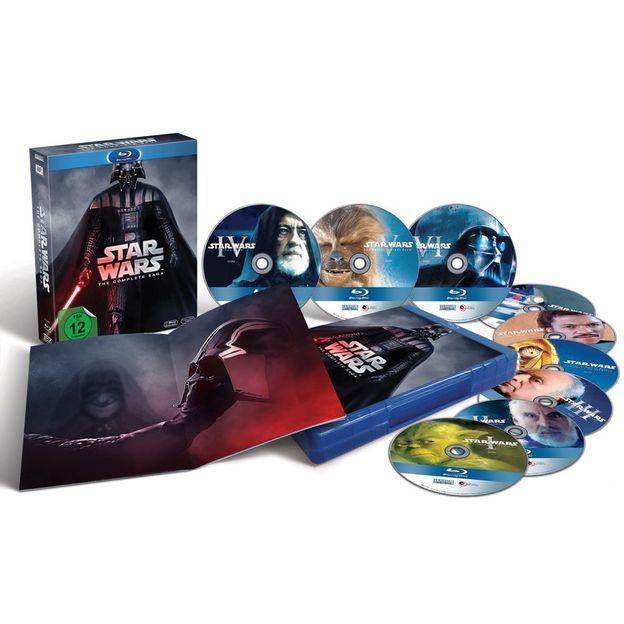 Blu-ray DVD Box Star Wars Complete Saga 1-6