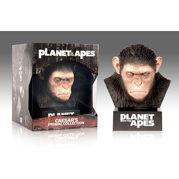 Blu-Ray 8-er Box Planet der Affen Collector Edition mit Affenkopf