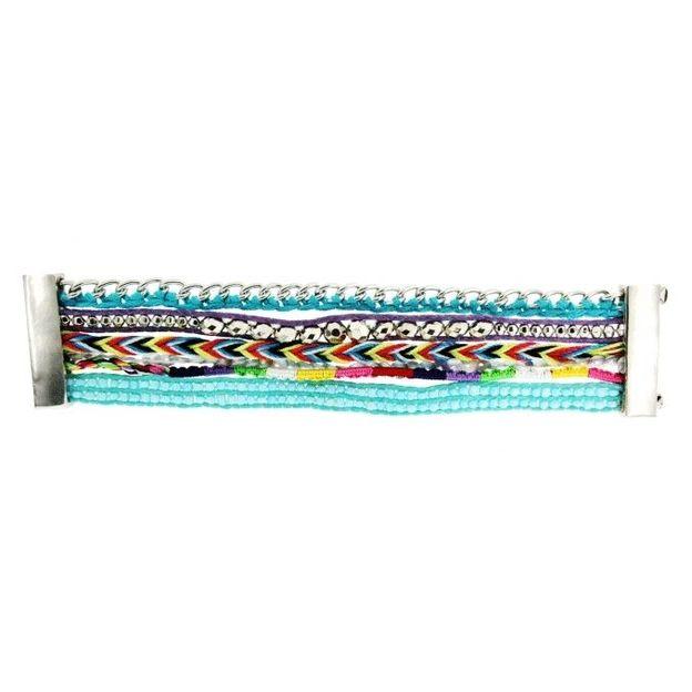 Armband Anela silber türkis