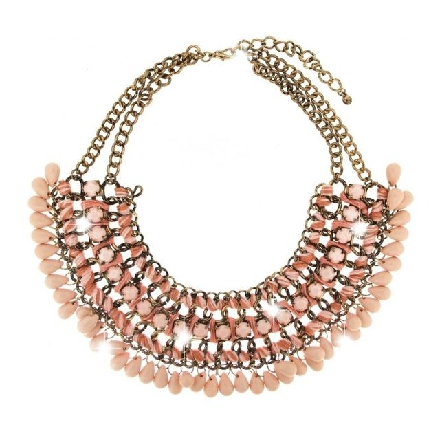 Collier granada doré antique/rosé