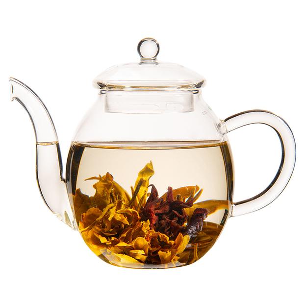 Erblühtee Geschenkbox Weisser Tee