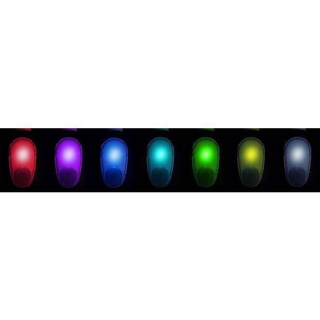 Sprudelbad mit Farbspiel