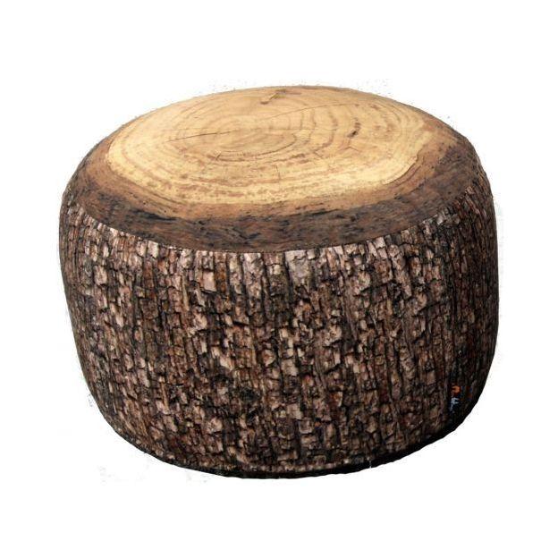 Sitzkissen in Holzoptik