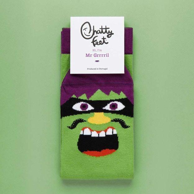 Socken Mr. Grrril, Grösse M