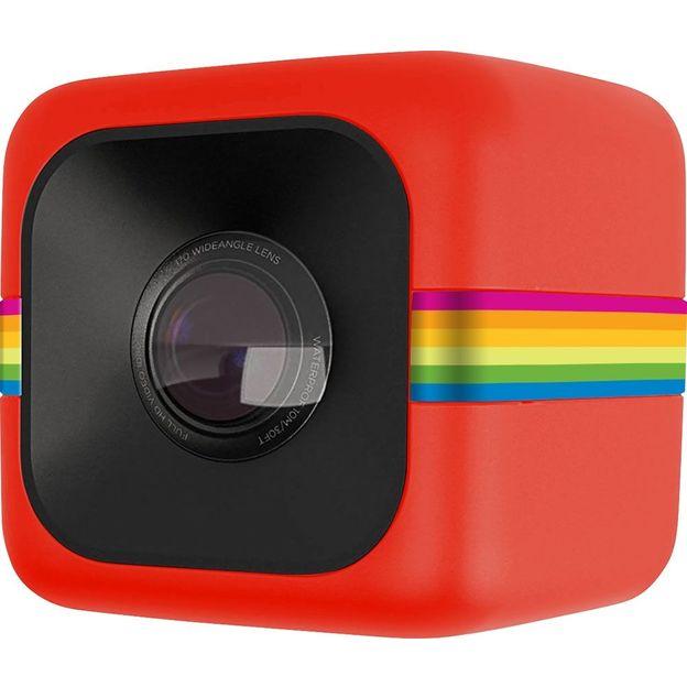 Polaroid Cube caméra d'action caméscope 6MP, rouge