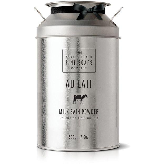 Scottish Fine Soaps Milch-Badepuder in Milchkanne