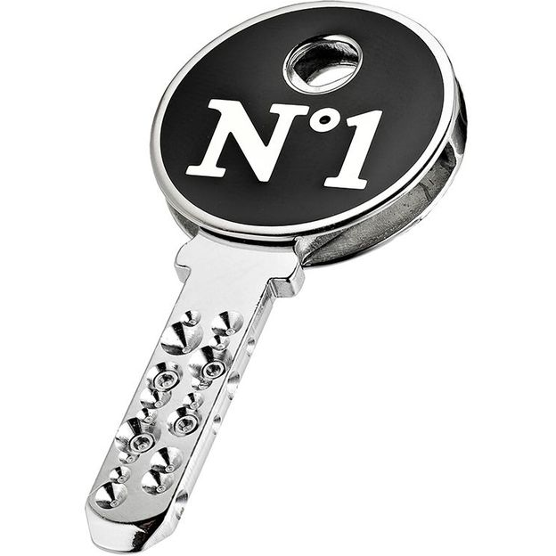 KeeeART Schlüsselanhänger Keeetop My Nr 1 Edelstahl
