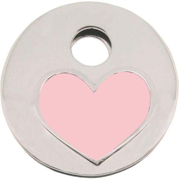 KeeeART Schlüsselanhänger Keeetop Purple Heart Edelstahl