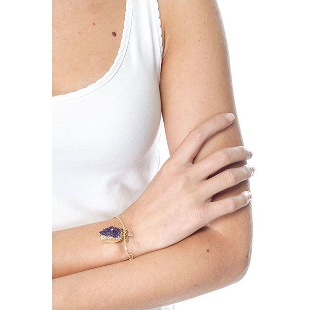Bracelet Lia - améthyste