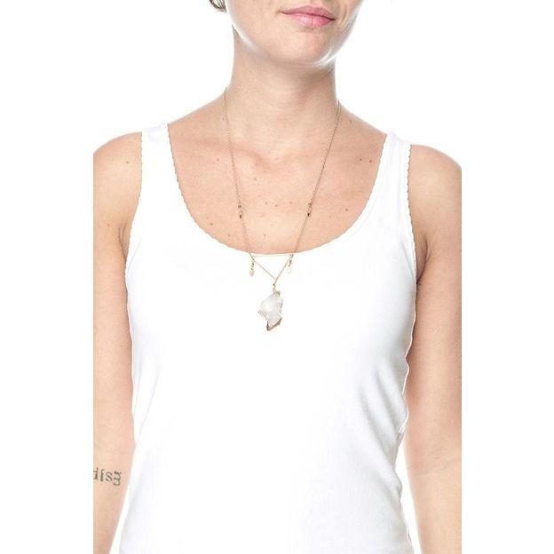 Halskette Lia - long cristal