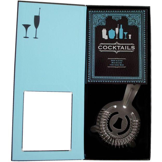 Geschenkbox Cocktail inklusiv Mix-Guide