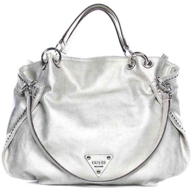 Guess Tasche Dylan silver
