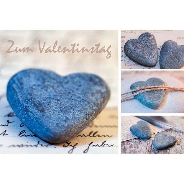 Grusskarte Valentinstag Elegance