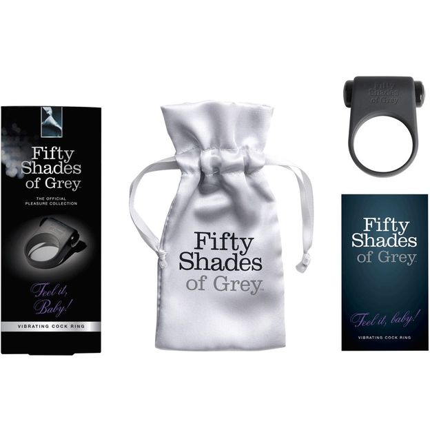 Fifty Shades of Grey Penisring Feel it Baby!