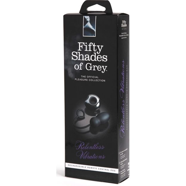 Oeuf vibrant - Fifty Shades of Grey Relentless Vibrations