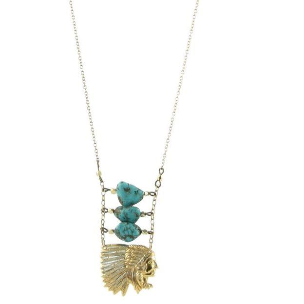Halskette Noa long indien