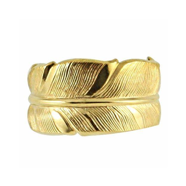 Bague Tania - Plume d'or