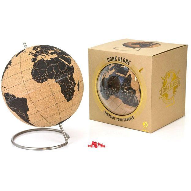 Globus aus Kork