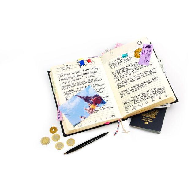 My Travel Journal bleu