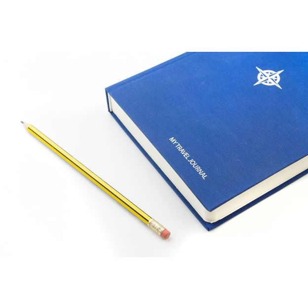 My Travel Journal blau
