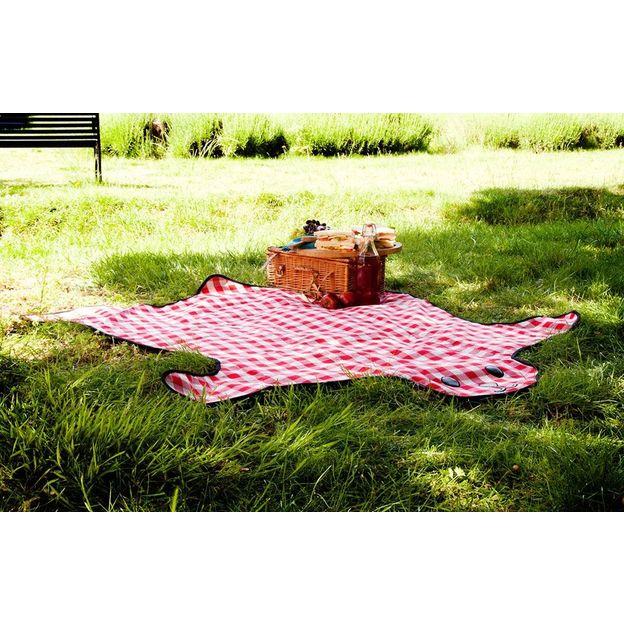 couverture pique nique red bear. Black Bedroom Furniture Sets. Home Design Ideas
