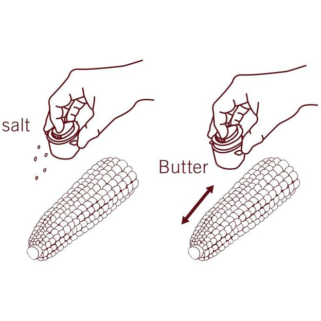 Butter Spender für Maiskolben