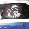 Auto Fensterschutz - Stop! Polizei!