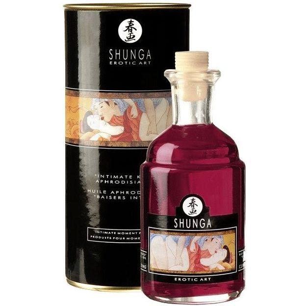 Shunga Massage-Öl wärmend Raspberry Feeling