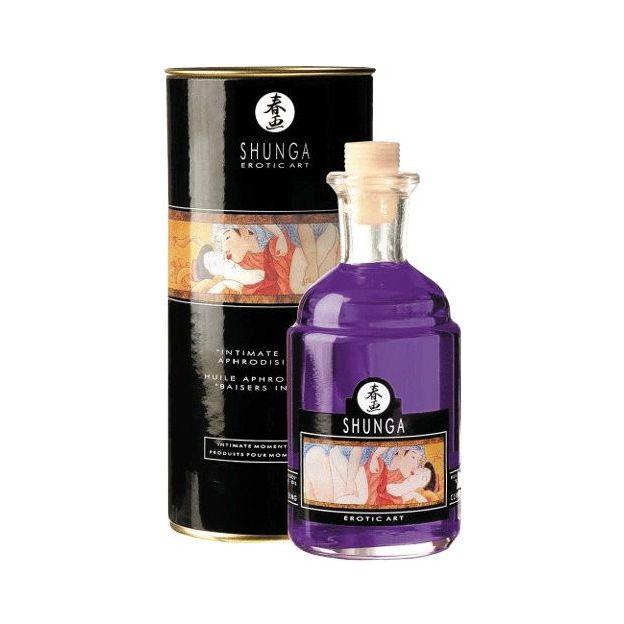 Huile aphrodisiaque Shunga Baisers Intimes Raisins