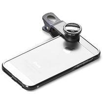 Clip universel 3 lentilles pour smartphone