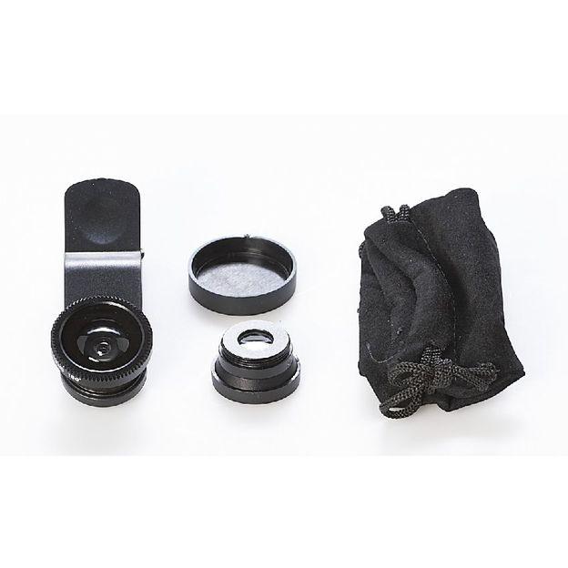 Clip universel 2 lentilles pour smartphone