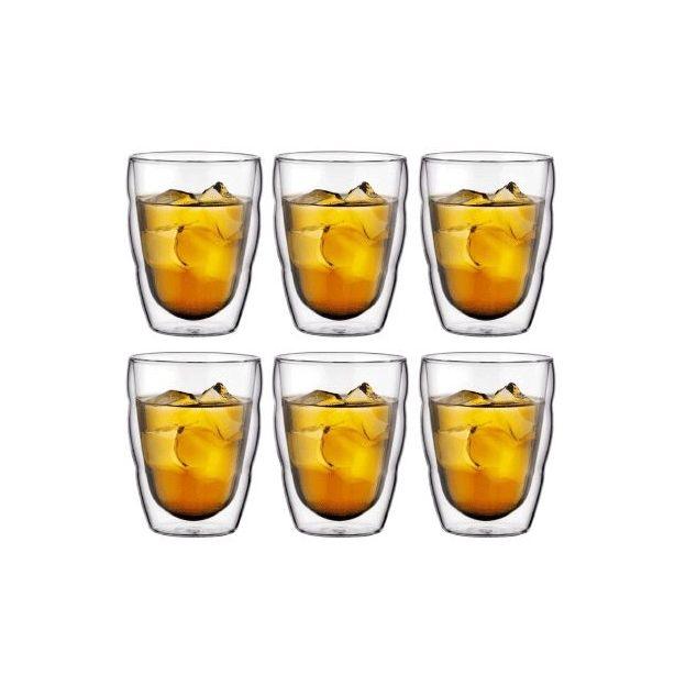 Set 6 verres Pilatus de Bodum