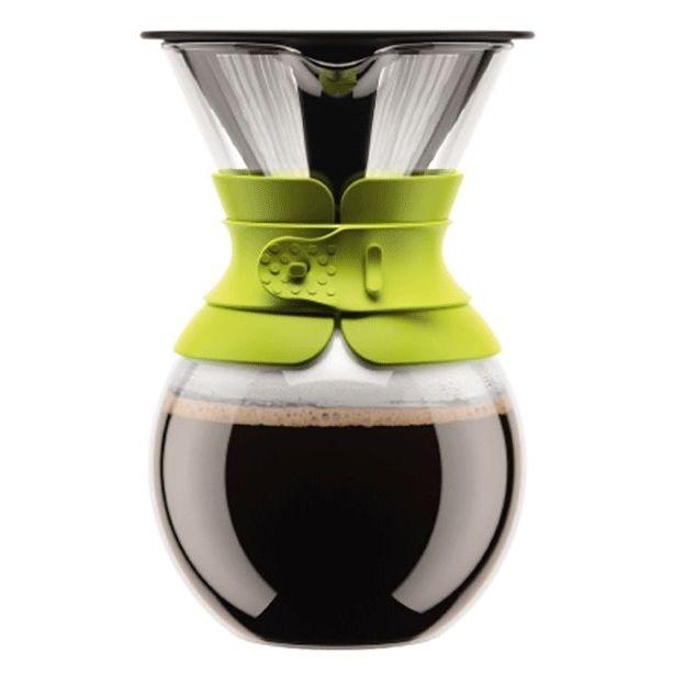 Kaffeebereiter Pour Over Limettengrün