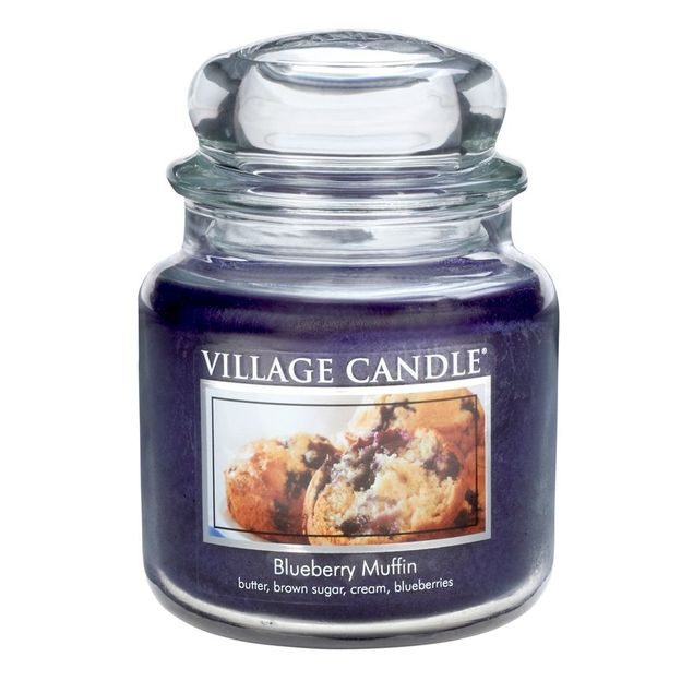 Village Candle Duftkerze Blueberry Muffin