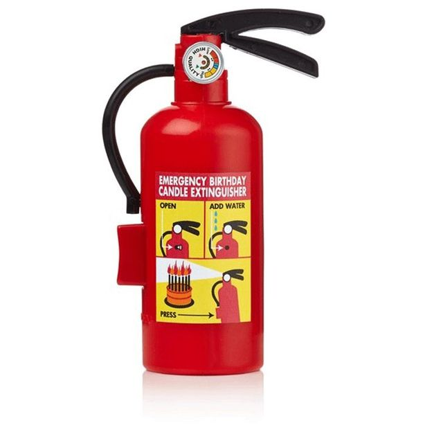 Notfall Feuerlöscher für Geburtstagskerzen